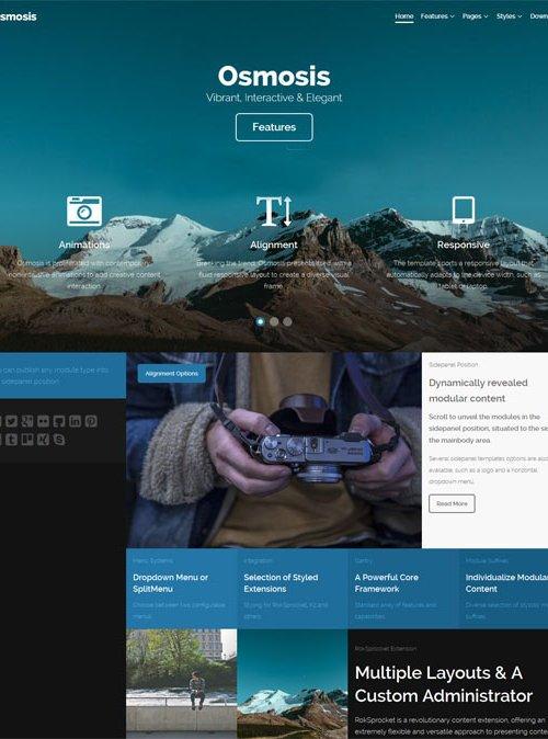 Joomla шаблоны joomla скачать бесплатно на русском